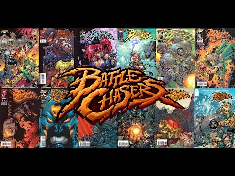 IMAGE COMICS BATTLE CHASERS #4 GUY COVER