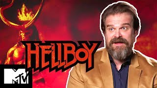 Which Avenger Would Be BFF of Hellboy's David Harbour? | MTV Movies