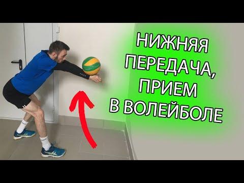 Вопрос: Как выполнить нижнюю подачу в волейболе?