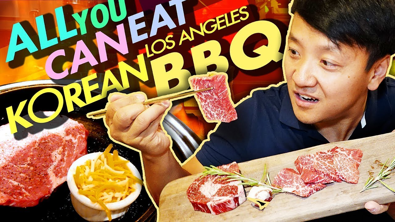 DRY AGED STEAK! All You Can Eat KOREAN BBQ Tour of Greater Los Angeles Part 1