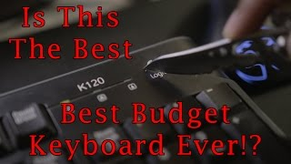 Best Budget Keyboard ($13)!? Logitech K120 Review!