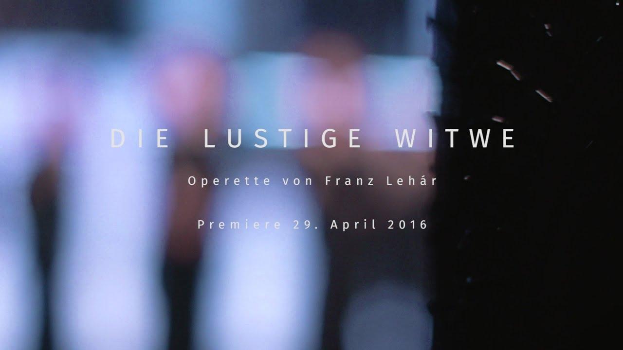 »Die lustige Witwe« Trailer (Staatsoperette Dresden)