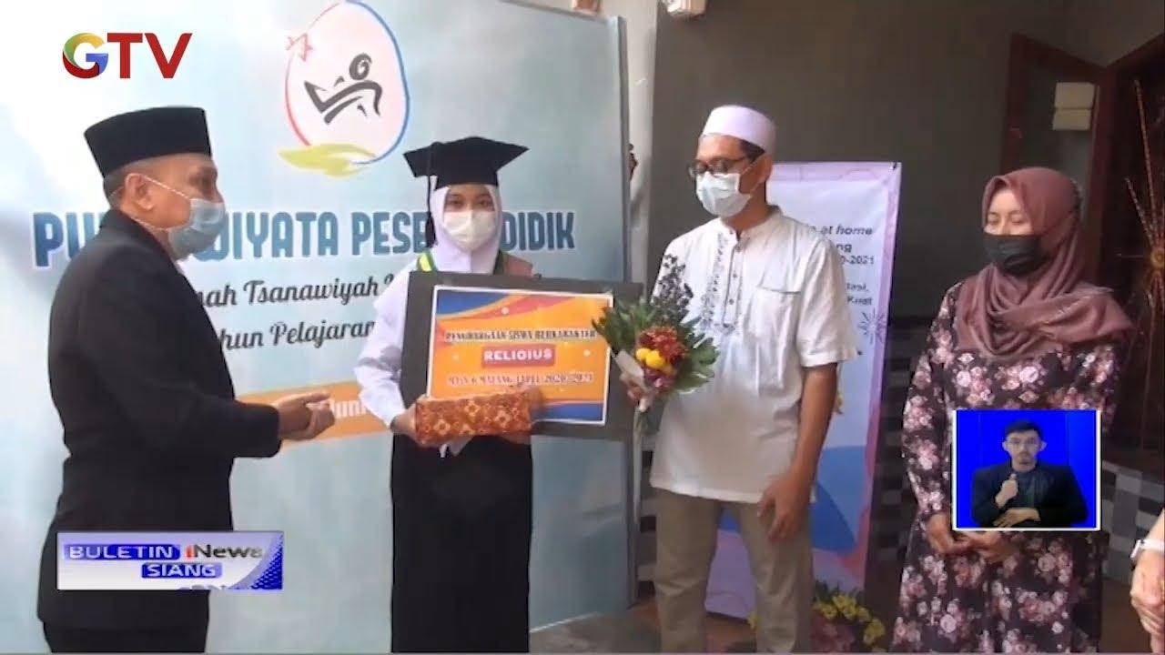 UNIK! Masih Pandemi, MTSN 6 Malang Gelar Wisuda Keliling - BIS 13/06