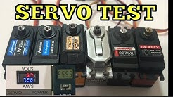 Servo Comparison Savox Power HD Turnigy Traxxas Hexfly