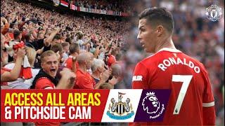 Ronaldo returns & Bruno's screamer! | Access All Areas & Pitchside Cam | Man United 4-1 Newcastle screenshot 5