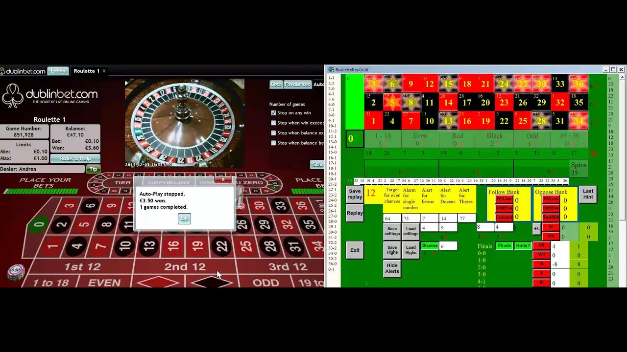 roulette spins data