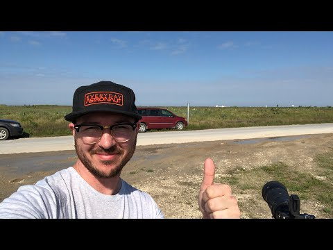Live at SpaceX's StarHopper test!