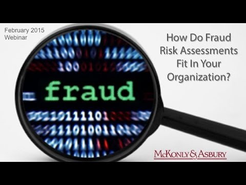 How do Fraud Risk Assessments Fit In Your Organization?