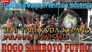 Rogo Samboyo Putro Terbaru Live 2017 Dander Kediri    Traditional Dance From East Java Indonesia