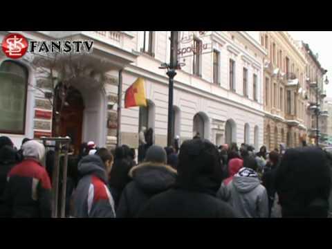 16.02.2010 Urząd Miasta Łodzi - KIBICE ŁKS-u