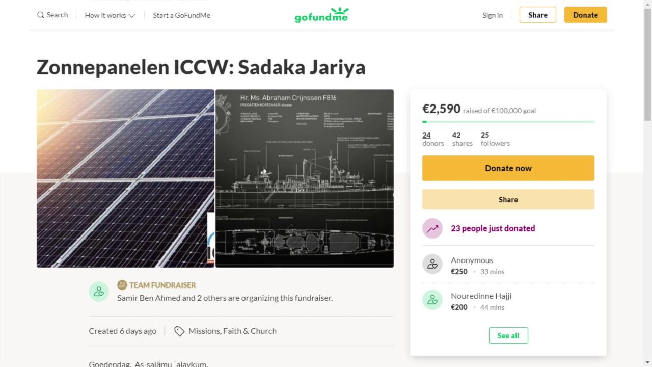 LIVE EVENT! Zonnepanelenactie Ramadan: Sadaka Jariya