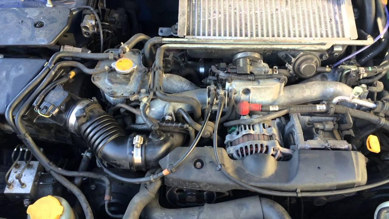 subaru fuel filter location