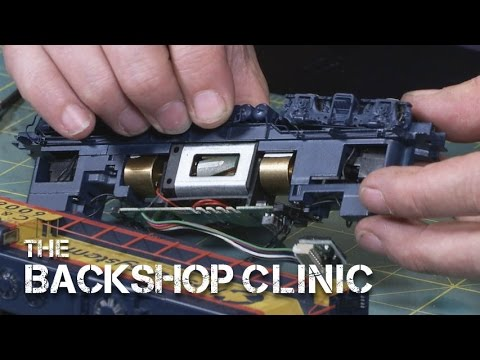 TrainMasters TV preview - The Backshop Clinic: Loco Lube