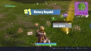Fortnite High Kill Solo Win NEW WEAPON Gameplay