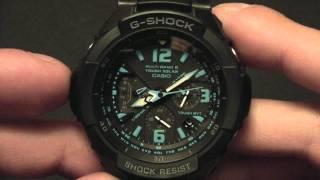 Настройка Casio GW-3000 часть 1(Корректируем стрелки. Начальная настройка., 2011-07-28T19:02:26.000Z)