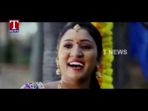 T News Bathukamma Song 2017Udaya BhanuBangaru BathukammaSaddula BathukammaT News