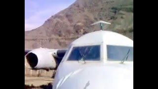 PIA Foker AirPlane Crash Land in Chitral