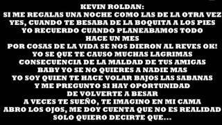 Yo Sigo Pensando En Ti.  Kevin Roldan Ft. Nicky Jam