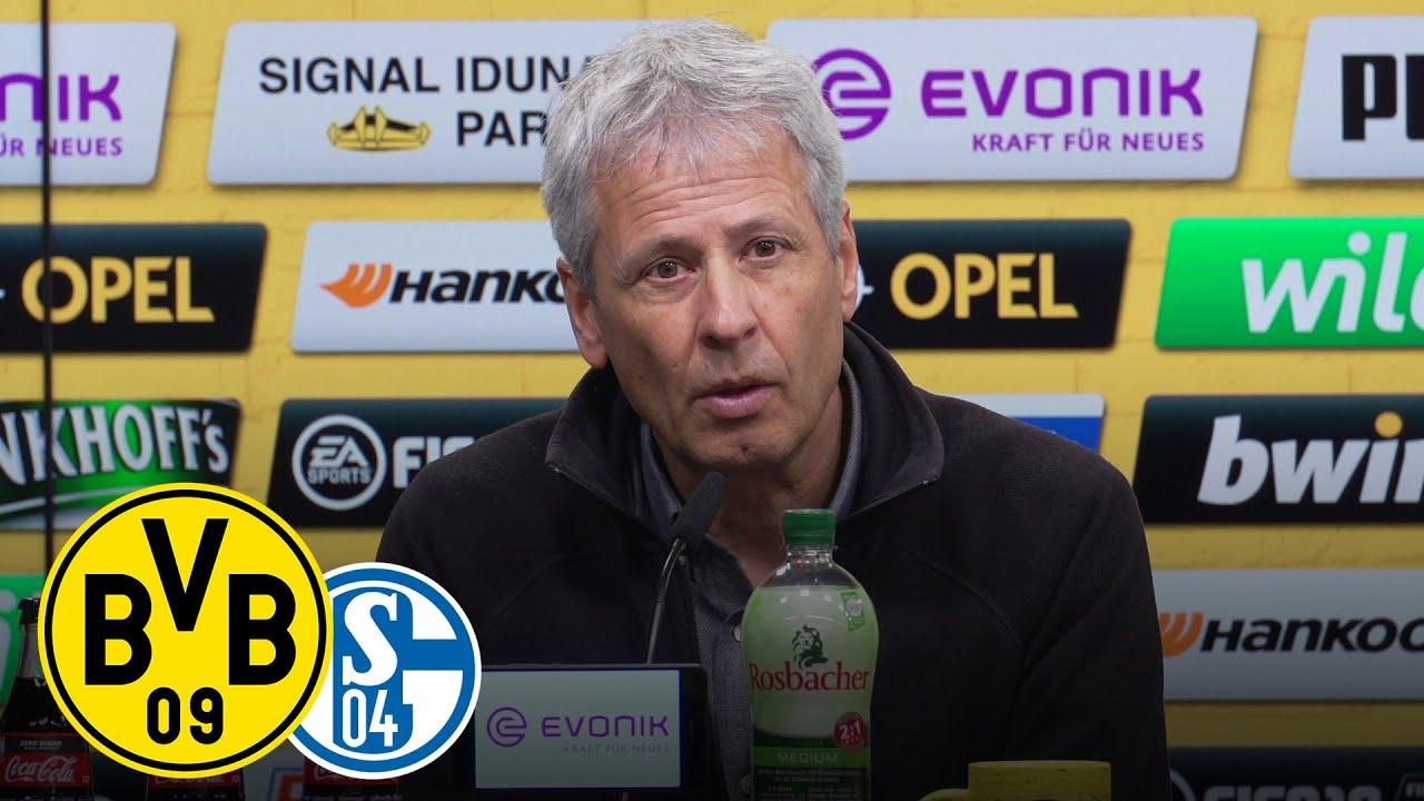 Derby-Niederlage zu neunt | PK mit Lucien Favre und Huub Stevens | BVB - Schalke 2:4