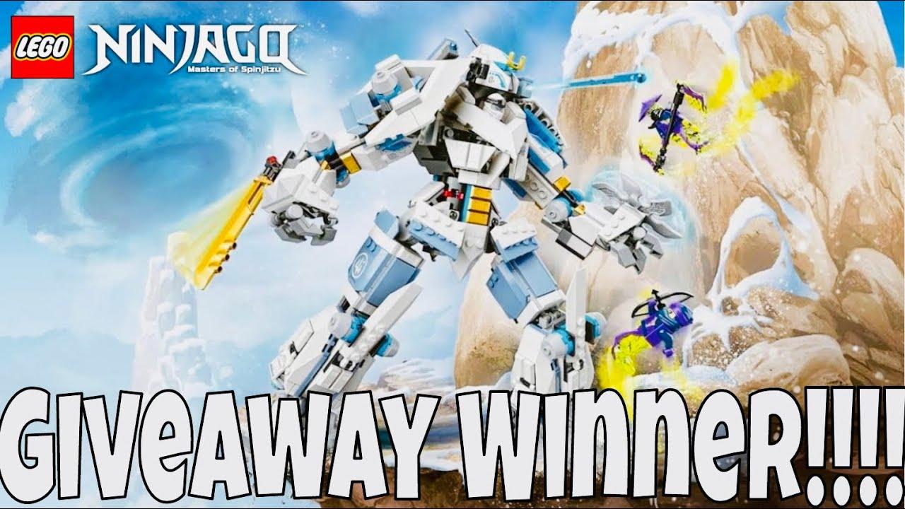 LEGO Ninjago Zane's Titan Mech Giveaway WINNER