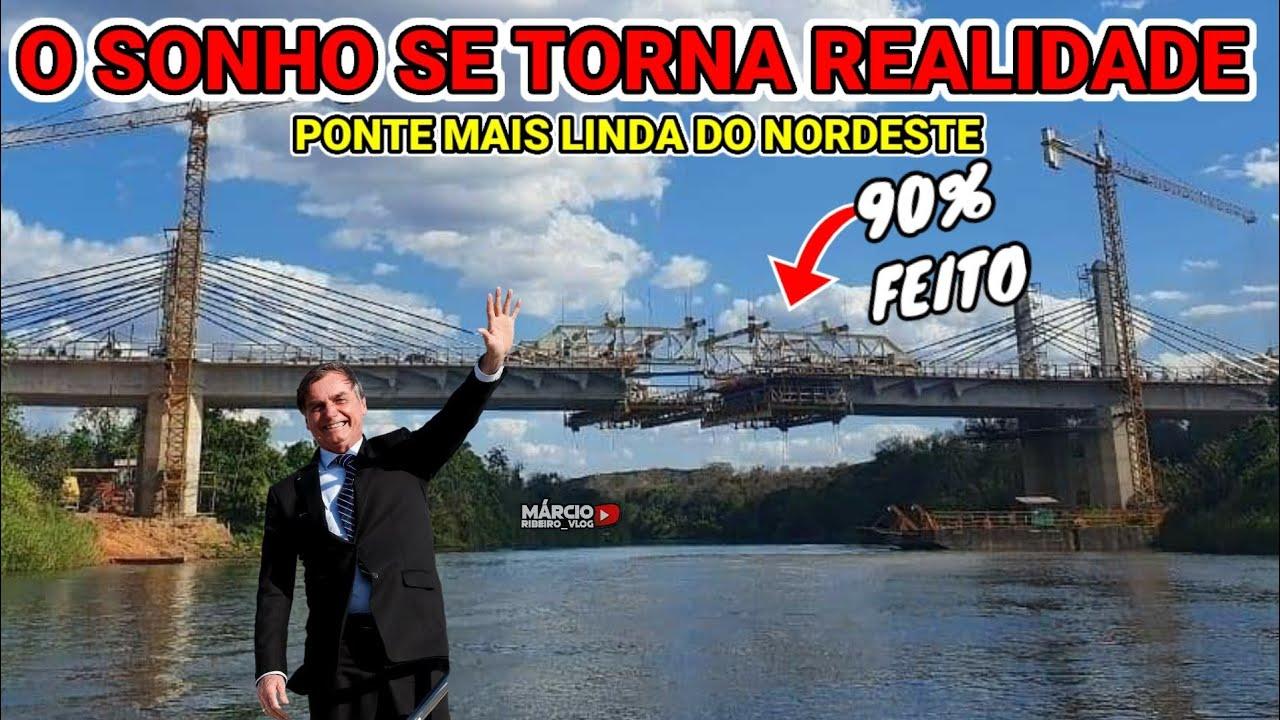 ?BOLSONARO CONSTRÓI O SONHO DO PIAUÍ E MARANHÃO, NOVA PONTE SOBRE O RIO PARNAÍBA, LIGAR A BR-235 #2