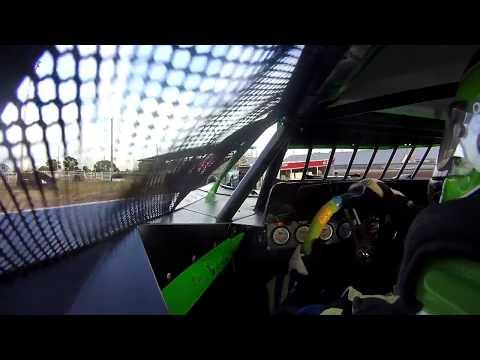 9/30/2017 Phillips County Raceway heat race (in car front)