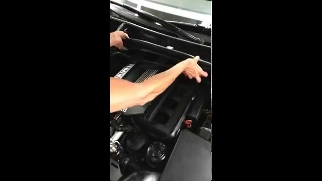 removal of fuel injectors on 2002 BMW 325 ci ~video 1~