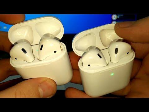 Apple AirPods ОРИГИНАЛ Vs КОПИЯ LUX ТОТАЛЬНОЕ СРАВНЕНИЕ! КАК НЕ ПОПАСТЬ НА БАБЛО покупая ПОДДЕЛКУ?!?