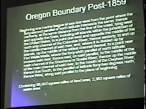 Donation Land Claims in Oregon