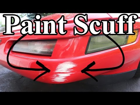 How to Remove Paint Scuffs On Your Car (Paint Transfer)