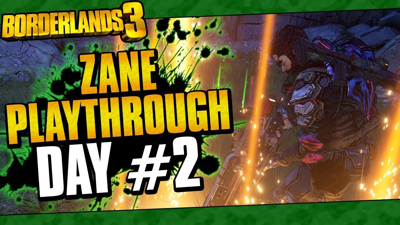 Borderlands 3 | Zane Playthrough Funny Moments And Drops | Day #2 thumbnail