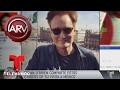 Conan O'Brien comparte fotos de su visita a México | Al Rojo Vivo | Telemundo