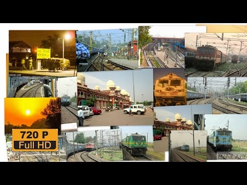 [IRI] New Delhi to Kanpur Central  Full Journey Video On-board 12324 howrah Sf Express