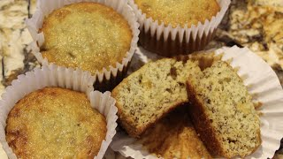 Muffins/banana Cherry Filled Muffin Recipe/cheryls Home Cooking/episode 273