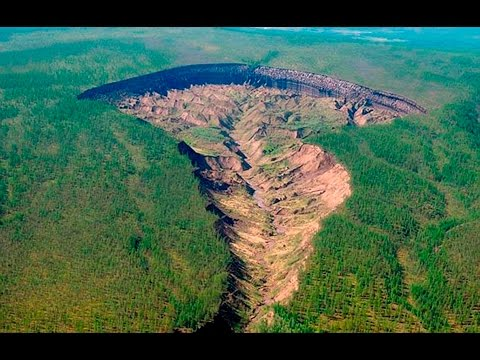 Siberian 'hellmouth' crater caused by melting permafrost is growing fast could reveal climate...