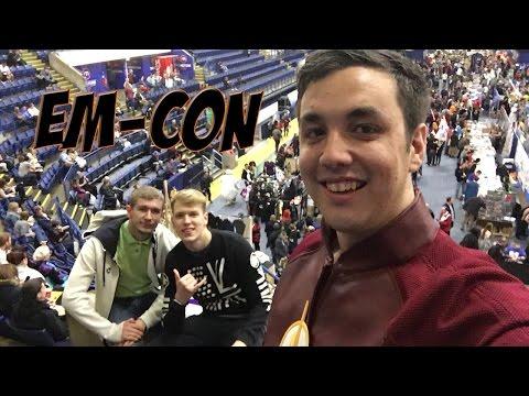 EmCon 2017  Met Arthur Darvill, Casper Crump and Elysia Rotaru