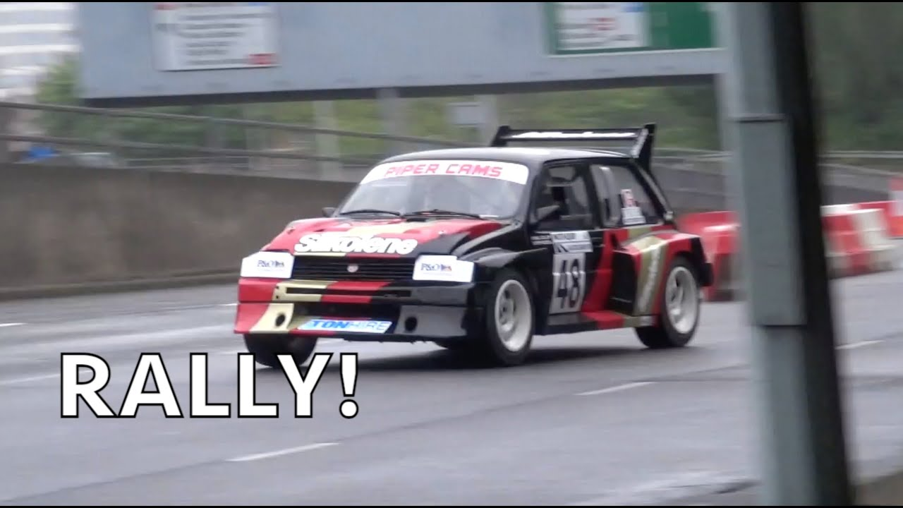 Classic Rally Cars: RS200, Metro 6R4, E30 M3 + More! Accelerations, Slides & Sounds