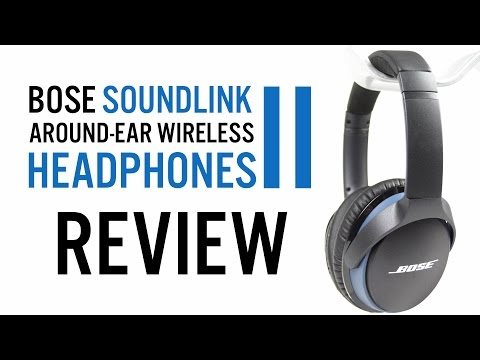 Bose SoundLink around-ear wireless headphones 2