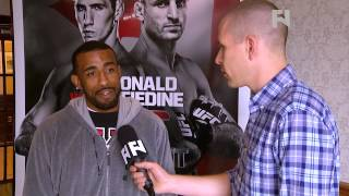 "UFC Fight Night 54: Jerrod Sanders - ""I"