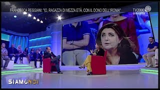 """Siamo Noi - Francesca Reggiani: """"io, Ragazza Di Mezza Età Con Tanta Ironia"""""""