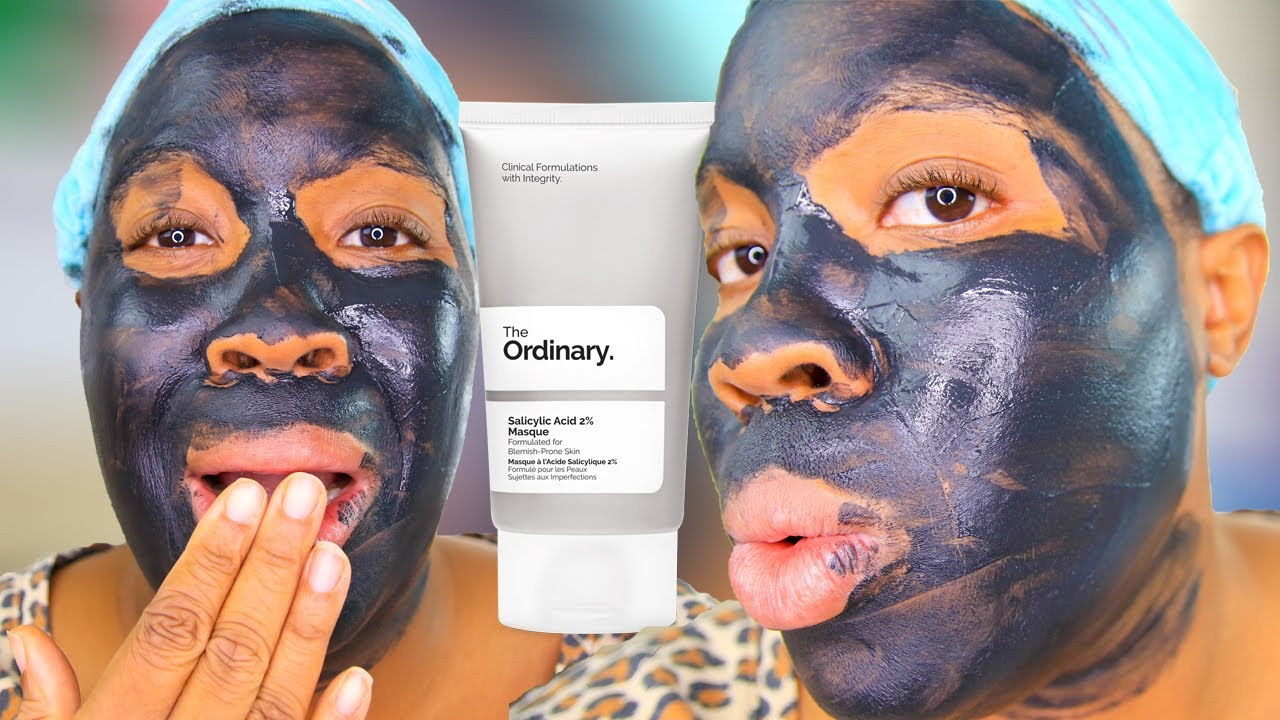 I Tried The Ordinary Salicylic Acid 2 Mask The Ordinary Salicylic Acid 2 Masque Review And Demo Youtube