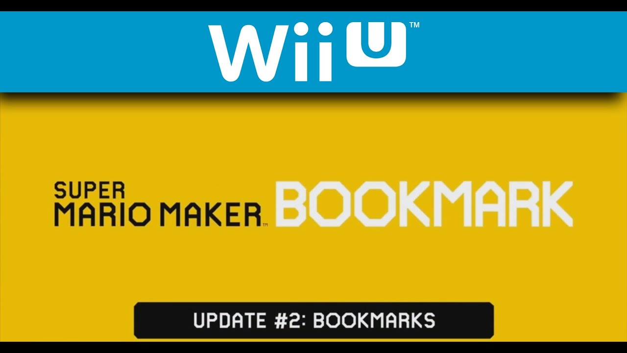 Super Mario Maker - Bookmark Web Portal Video (Wii U)
