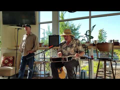Bobby Lindstrom and Ed the Whistler