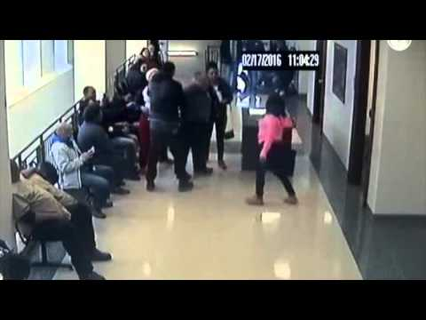 Elyria courthouse scuffle
