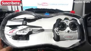 Helicoptero Fly shadow de VDM Unboxing español
