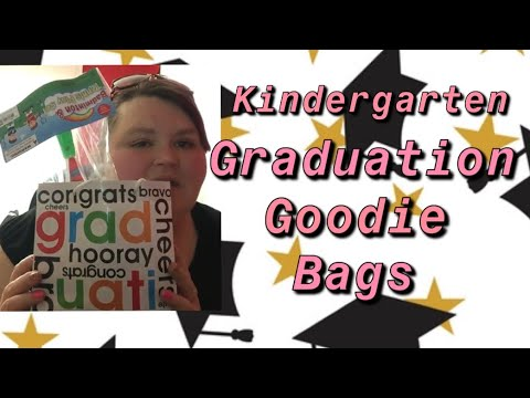 Kindergarten Graduation Goodie Bags | Day To Day With Rae