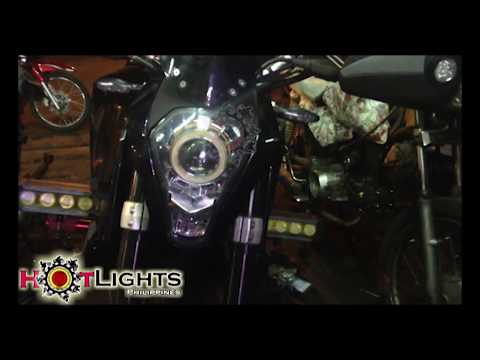 KTM 390 AES HID Projector set up by HotLights Philippines