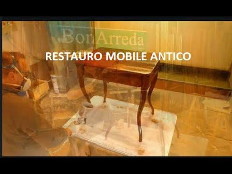 Restauro Mobile Antico Tavolo Tavolino Diy Renovation Rapair Repairs Restoration Furniture Newlook Youtube