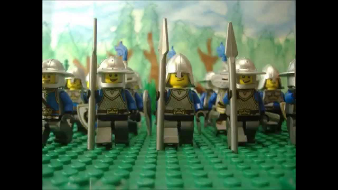 LEGO Knights go to war