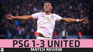 RASHFORD PUTS UNITED THROUGH! PSG 1-3 Manchester United Reactions | Champions League Review